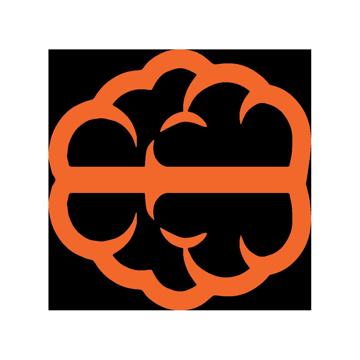 Orange Sky Icon