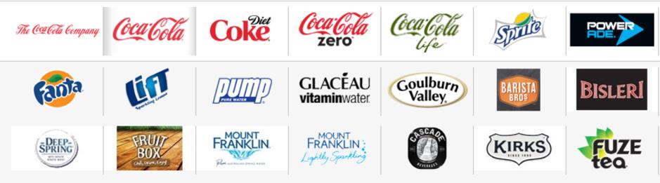 coca-cola-aus-product-range